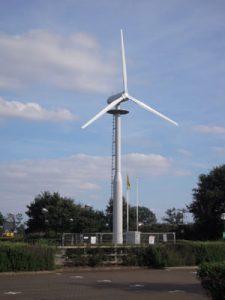 Gazelle Wind Turbine at MSC (UK) Ltd Ipswich