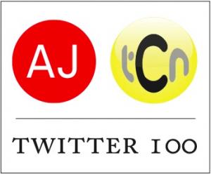 The AJtCn100 Logo