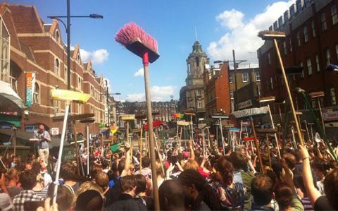 UK Construction People Crowdsourced to help rebuild after riots – #RiotRebuild