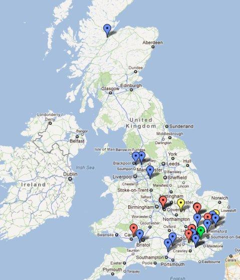 Map of interest shown in Linkedin Workshops