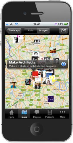 Iphone App for ArchitectMap