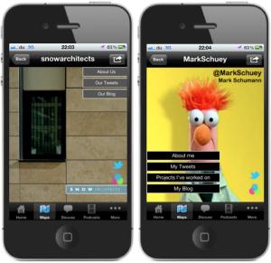 iPhone App Mini 'miniApp' examples