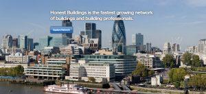 Honest Buildings Website Screenshot