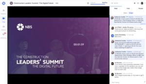 Construction Leadership Summit - Hopin Platform
