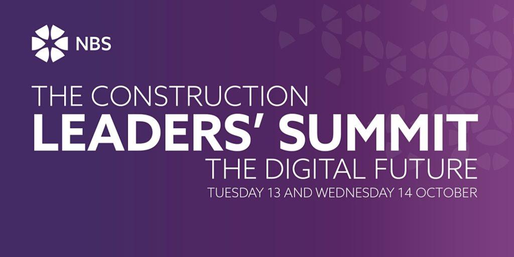 Construction Leadership Summit 2020 - banner
